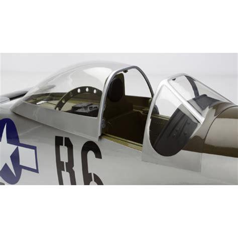 P 51 Mustang Hangar 9 by Hangar 9 P 51d Mustang 60cc Arf 2 26m Han4770