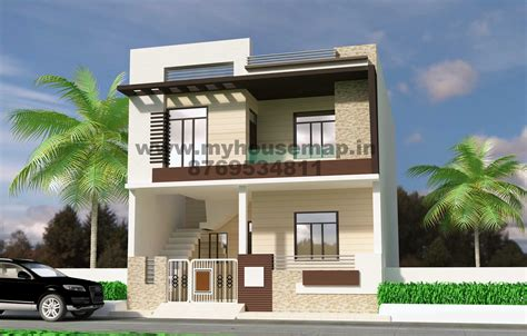 duplex house front elevation designs collection with plans front elevation design modern trends and fascinating