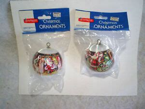 walgreens musical christmas large ornament 2 brite tree ornaments sealed the before santa walgreens ebay