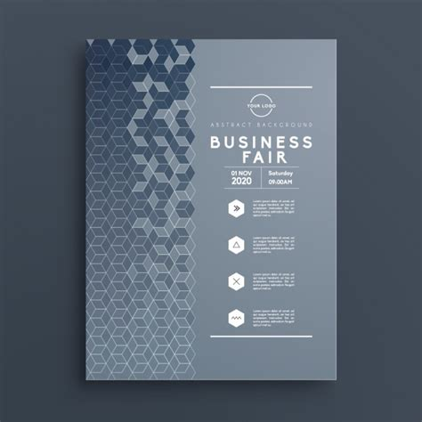 Business Brochure Template Vector Free Download Business Brochure Templates