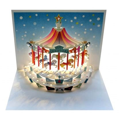 how to make amazing pop up cards carousel amazing pop up greeting card cards