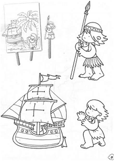 imagenes para colorear sobre el 12 de octubre dibujos para pintar 12 de octubre dibujos para pintar