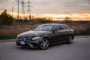 Mercedes Canada Review 2017 Mercedes E 300 4matic Canadian Auto Review