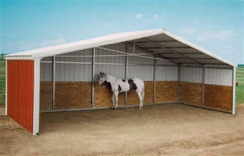 Loafing Shed For Horses by Garden Sheds How To Build A Loafing Shed