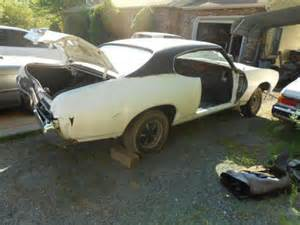 1969 Pontiac Gto Parts Purchase Used 1969 Lemans Parts Car 1968 1972 Gto