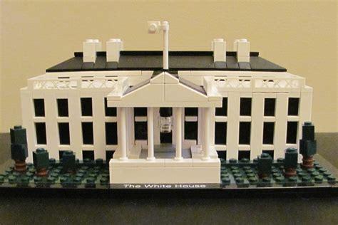 lego white house diy