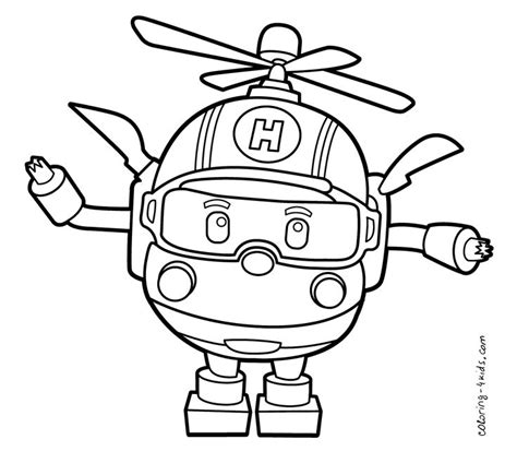 robocar poli coloring pages games robocar poli coloring pages helly for kids printable free