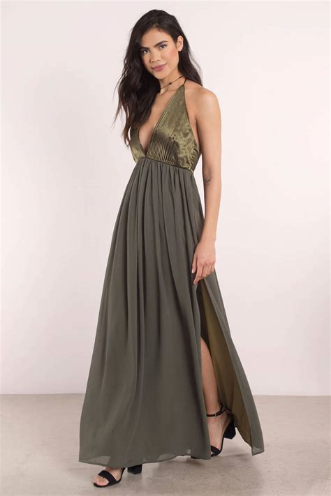 She Maxi grey dress v dress heavenly dress maxi dress 39 tobi us