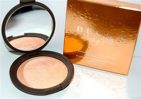 Becca Shimmering Skin Protector Pressed Powder Chagne Pop becca hill chagne pop shimmering skin perfector