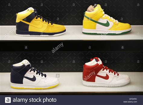 basketball shoes new york basketball shoes nike store harlem new york city usa