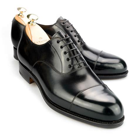 cordovan oxford shoes captoe oxford in black cordovan carmina