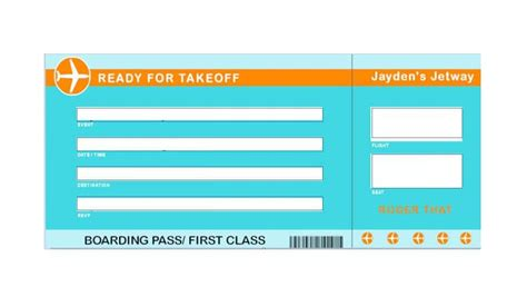 boarding pass template 16 real boarding pass templates 100 free ᐅ