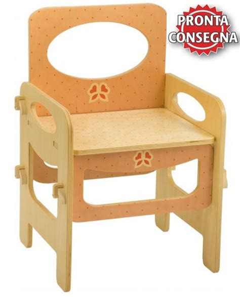 sedie bambini legno sedia azzurro pastello per bambini in legno naturale