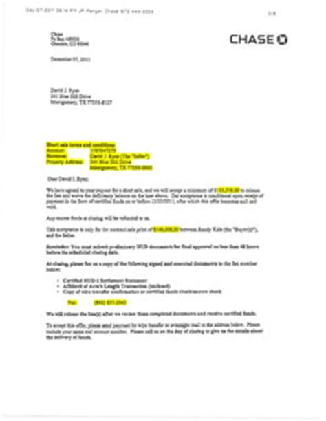 Loan Approval Notification Letter Montgomery 77356 Preforeclosure Shortsale
