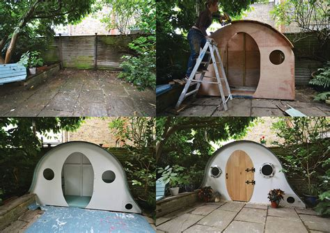 shedworking hobbit house shed