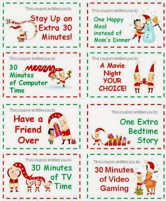 printable christmas coupons pinterest the world s catalog of ideas