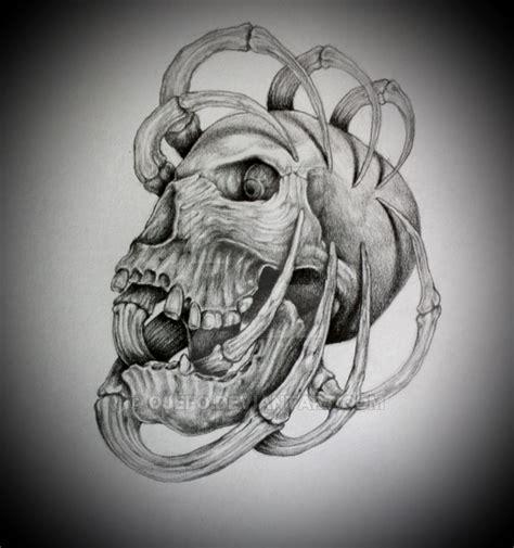 tattoo flash art skulls skull tattoo flash by ojefo on deviantart