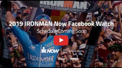 ironman facebook schedule release youtube
