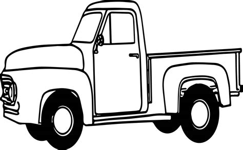 pickup truck coloring pages bing images