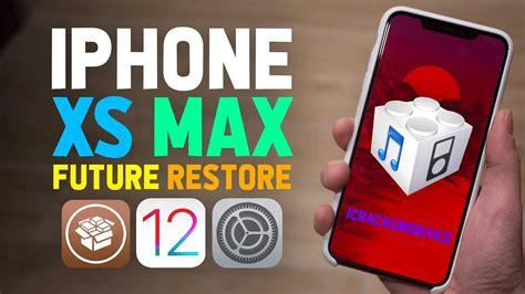 ios 12 1 2 jailbreak prep iphone xs max future restore tutorial for a12 iphones ios 12