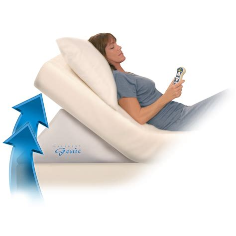 king size bed wedge pillow contour mattress genie bed pillows at hayneedle