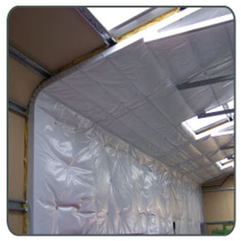Putting Insulation In Garage by Precut Insulation Rolls For Insulating Carports And Garages
