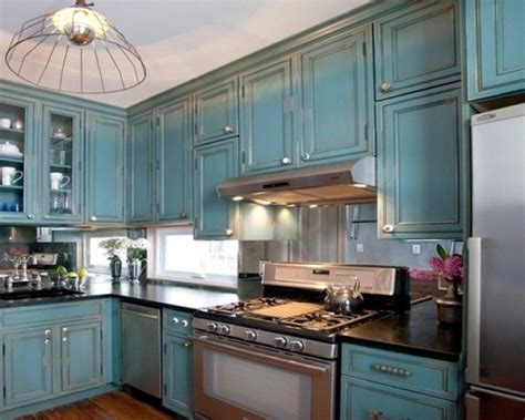 blue color kitchen cabinets antique blue kitchen cabinets presented to your condo