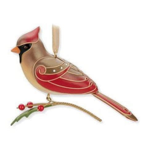 beautiful red bird christmas ornaments a listly list