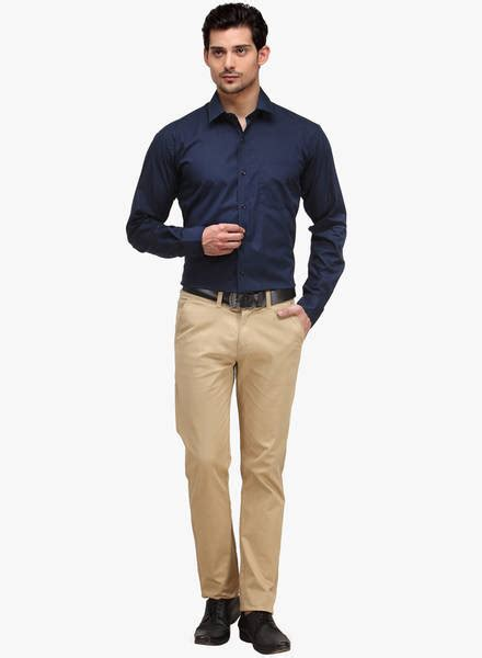 What Color Goes With Yellow And Red by Men S Guide To Perfect Pant Shirt Combination Looksgud In