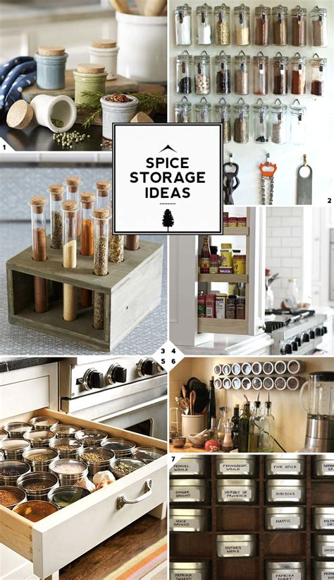 creative kitchen spice storage ideas and solutions home tree atlas