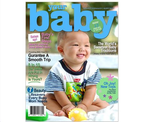 Magazine Cover Templates Your Baby Printable Diy Magazine Cover Template For Word Publisher Microsoft Publisher Magazine Cover Template