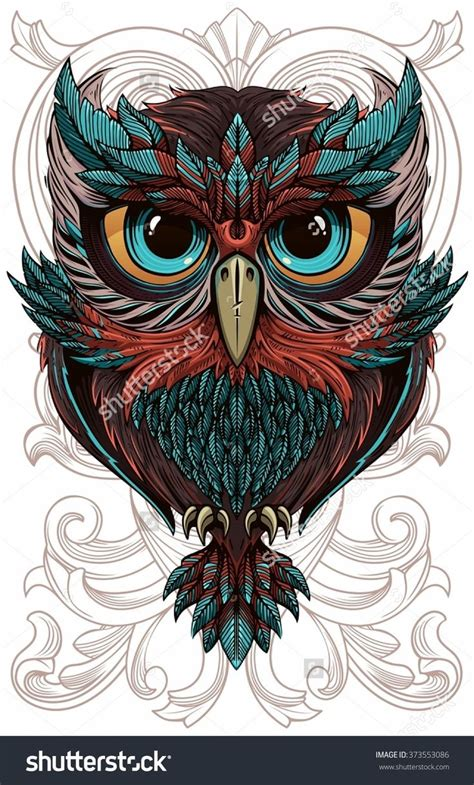 tattoo owl vector 3007 best artsy owls images on pinterest animals