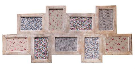 large multi frames photo picture shabby wooden chic dark white limed wash vtg ebay