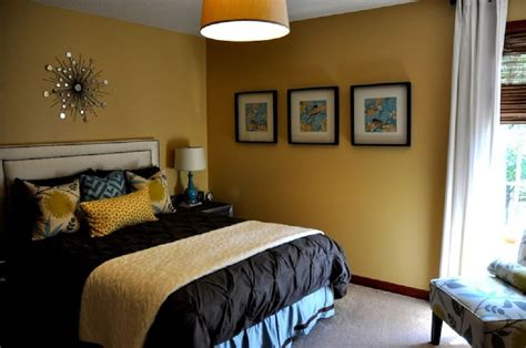 mustard yellow room ideas how to decorate a bedroom with yellow