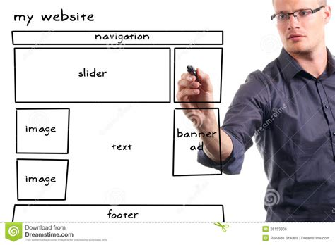 drawing website drawing website wireframe stock photo image of draw