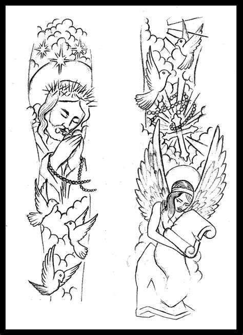 religious half sleeve tattoo designs 1000 ideas about