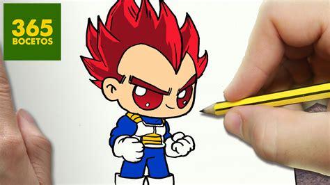 imagenes de goku kawai como dibujar vegeta dios kawaii paso a paso dibujos