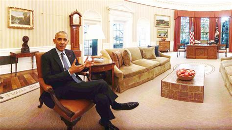 oval office tour as obama leaves he leads tour of quot the people s quot white