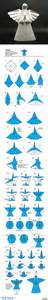 Origami Angle - origami origami design wings and