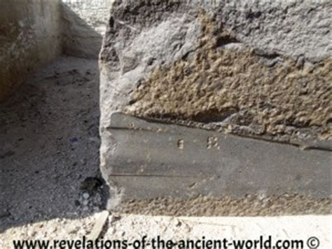 which of the following show evidence of ancient river beds ancient high technology in giza egypt tons of picture