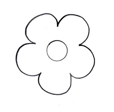 flower cutout clipart best