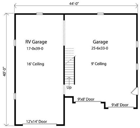 rv garage door sizes rv garage with loft 2237sl cad available pdf