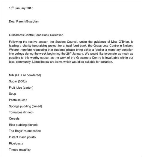 charity contribution letter donation letter template 26 free word pdf documents