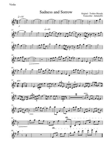 naruto sadness  sorrow violin