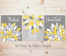 yellow gray decor