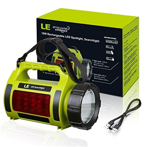 le led rechargeable le 1000lm rechargeable cing lantern 3600mah power bank bright flashlight 3 modes l