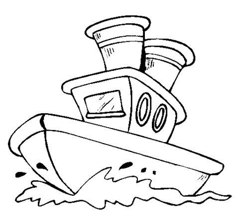 dibujo barco mar dibujo de barco en el mar para colorear dibujos net
