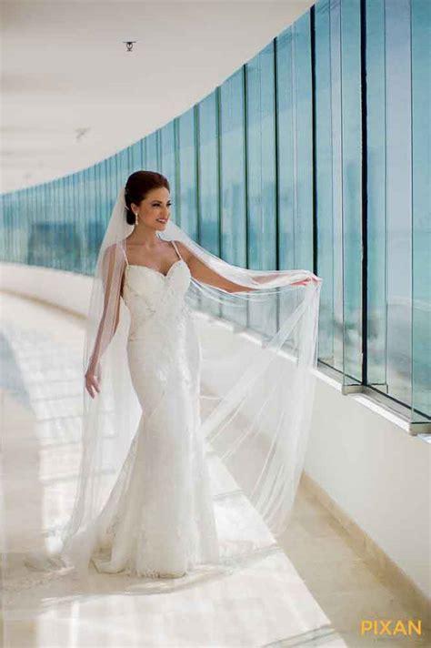 Aqua Dress Monalisa by Live Aqua Cancun Wedding And Johnny