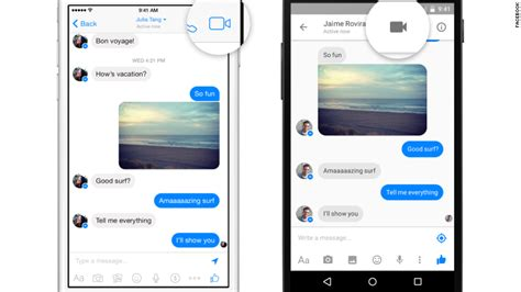 fb video call facebook messenger now lets you make video calls