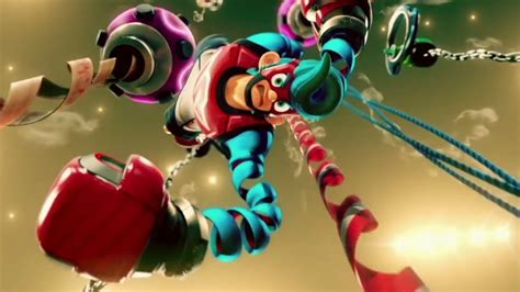 Nintendo Switch Arms 9 minutes of nintendo switch arms gameplay site reviews